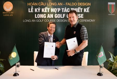 Faldo Design and Royal Group Sign Agreement for Golf Project in Long An, Vietnam