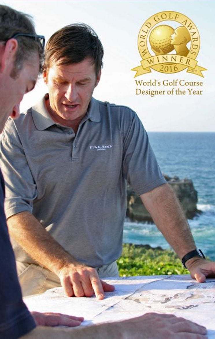Sir Nick Faldo Golf Course Designer of the Year