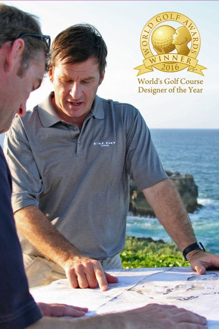 Sir Nick Faldo – 2016 Golf Course Designer of the Year